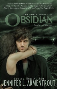 BOOK REVIEW – Obsidian (Lux #1) by Jennifer L. Armentrout