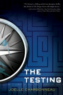 BOOK REVIEW – The Testing (The Testing #1) by Joelle Charbonneau