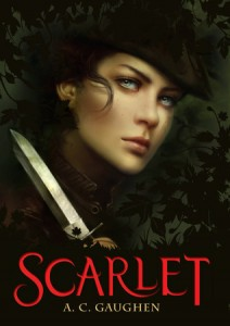 BOOK REVIEW: Scarlet (Scarlet #1) by A.C. Gaughen