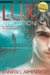 BOOK REVIEW – Opposition (Lux #5) by Jennifer L. Armentrout
