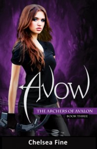 BOOK REVIEW – Avow (The Archers of Avalon #3) by Chelsea Fine