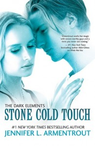 BOOK REVIEW: Stone Cold Touch (The Dark Elements #2) by Jennifer L. Armentrout