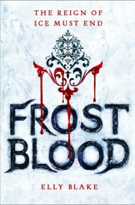 BOOK REVIEW+GIVEAWAY-Frostblood (Frostblood Saga #1) by Elly Blake