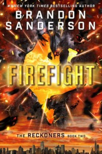 BOOK REVIEW: Firefight (Reckoners #2)