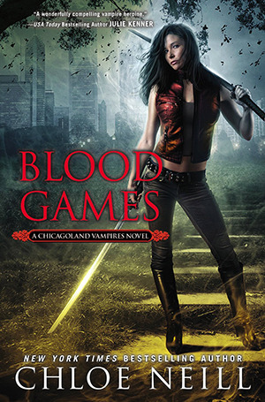 blood games chloe neill
