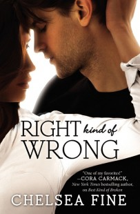 Book Review – Right Kind of Wrong (Finding Fate #3) by Chelsea Fine