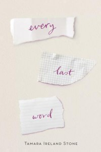 BOOK REVIEW: Every Last Word by Tamara Ireland Stone