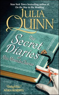 BOOK REVIEW – The Secret Diaries of Miss Miranda Cheever (Bevelstoke #1)  by Julia Quinn