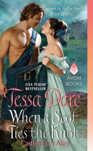 BOOK REVIEW – When a Scot Ties the Knot (Casters Ever After #3) by Tessa Dare