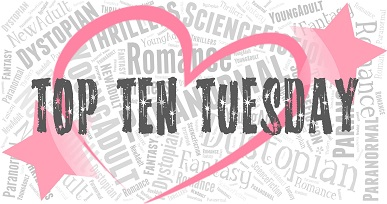 TOP TEN TUESDAY – Our Favorite Book Boyfriends From Books Laced With Romance