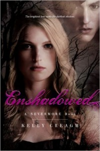 BOOK REVIEW: Enshadowed (Nevermore #2) by Kelly Creagh