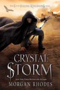 BLOG TOUR+REVIEW+GIVEAWAY-Crystal Storm (Falling Kingdoms #5) by Morgan Rhodes