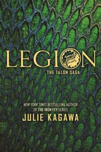 BOOK REVIEW: Legion (Talon #4) by Julia Kagawa