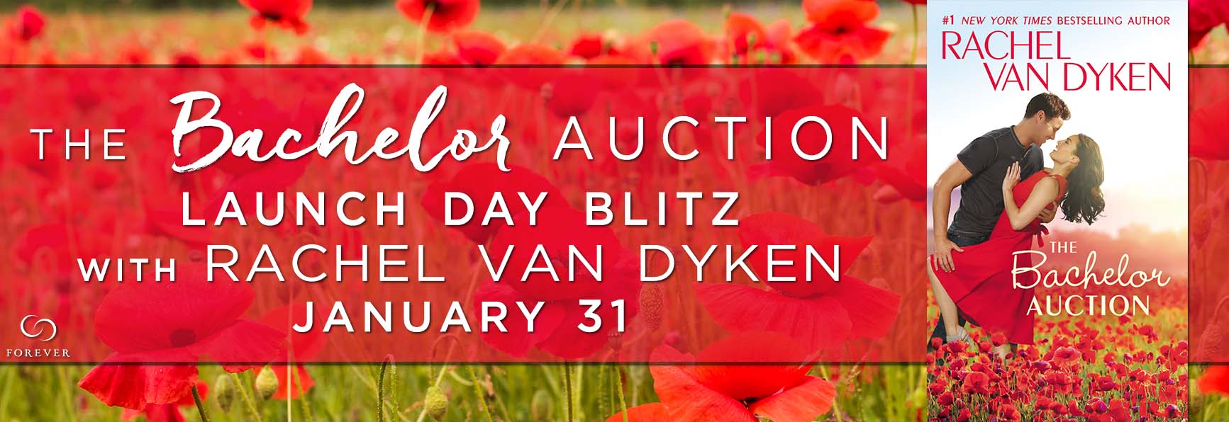 GIVEAWAY – The Bachelor Auction by Rachel Van Dyken