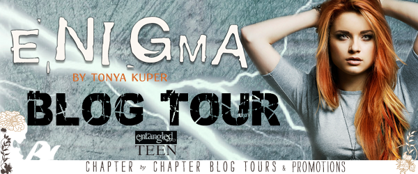BOOK REVIEW + GIVEAWAY - Enigma (Schrodinger's Consortium #2) by Tonya Kuper