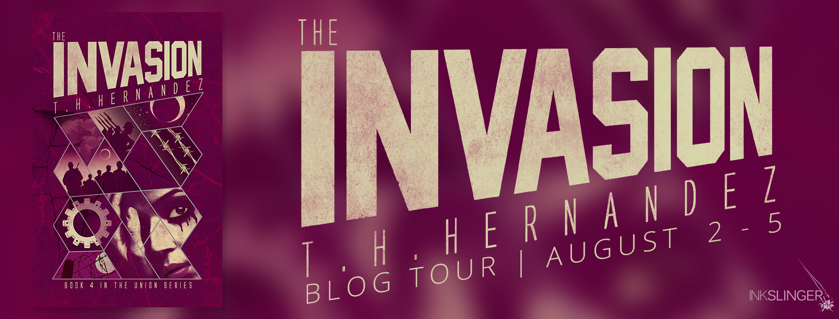 BOOK REVIEW + GIVEAWAY - The Invasion (The Union #4) by T.H. Hernandez