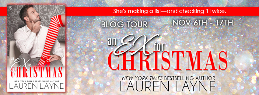 BOOK REVIEW & GIVEAWAY – An Ex for Christmas by Lauren Layne