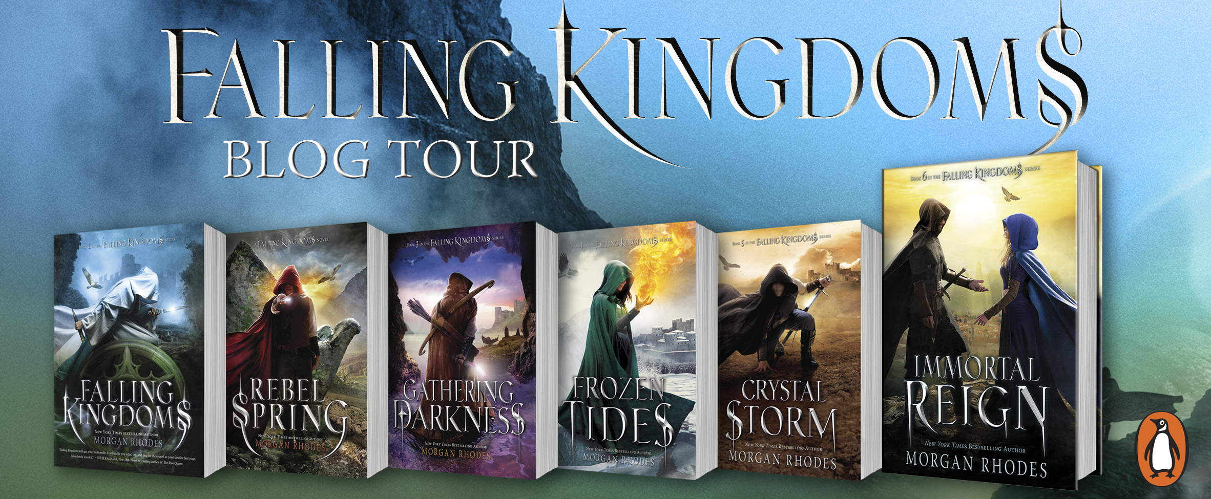 BLOG TOUR+BOOK REVIEW: Gathering Darkness (Falling Kingdoms #3) by Morgan Rhodes