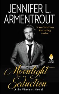 BOOK REVIEW: Moonlight Seduction (de Vincent #2) by Jennifer L. Armentrout