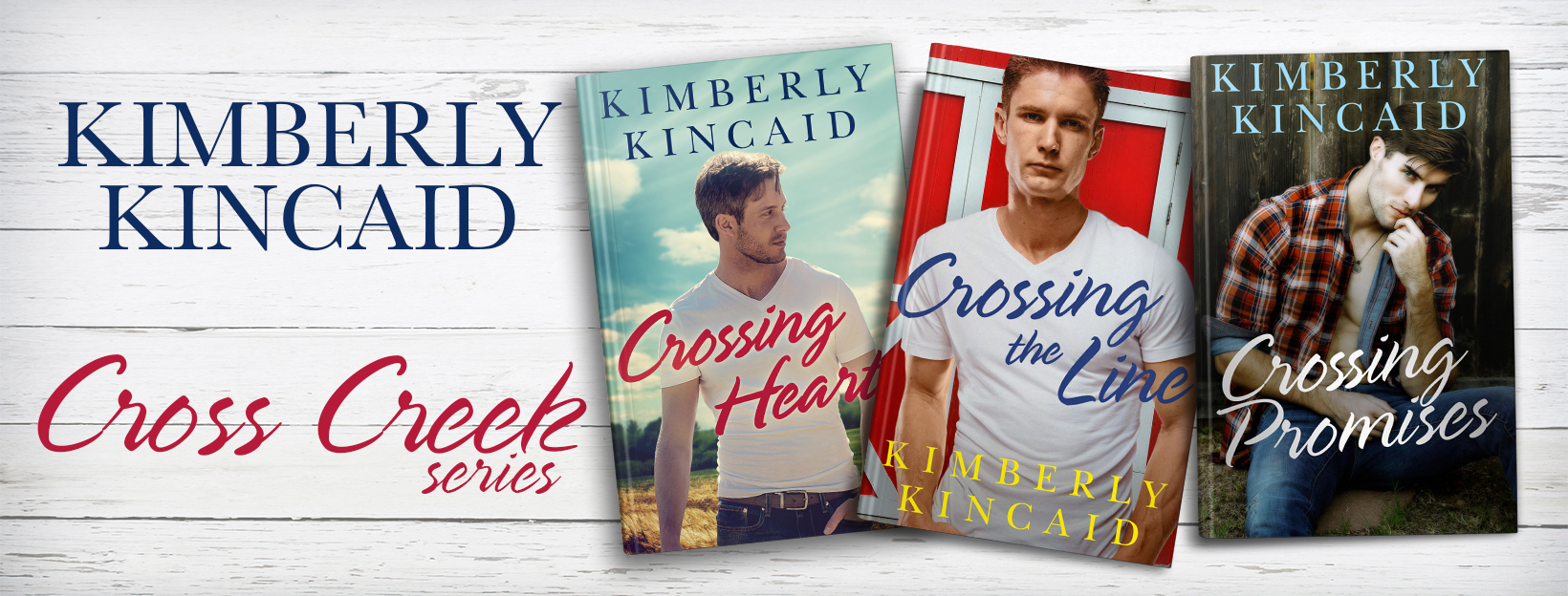 BOOK REVIEW - Crossing Hearts (Cross Creek #1) by Kimberly Kincaid