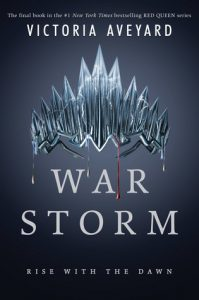 BOOK REVIEW: War Storm (Red Queen #4) by Victoria Aveyard