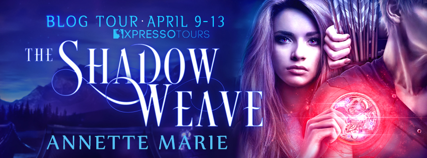 REVIEW & GIVEAWAY - The Shadow Weave (Spell Weaver #2) by Annette Marie