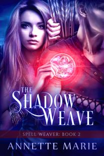 REVIEW & GIVEAWAY – The Shadow Weave (Spell Weaver #2) by Annette Marie