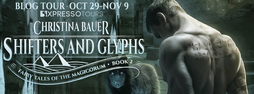 Print or ebook copy of Shifters and Glyphs + swag
