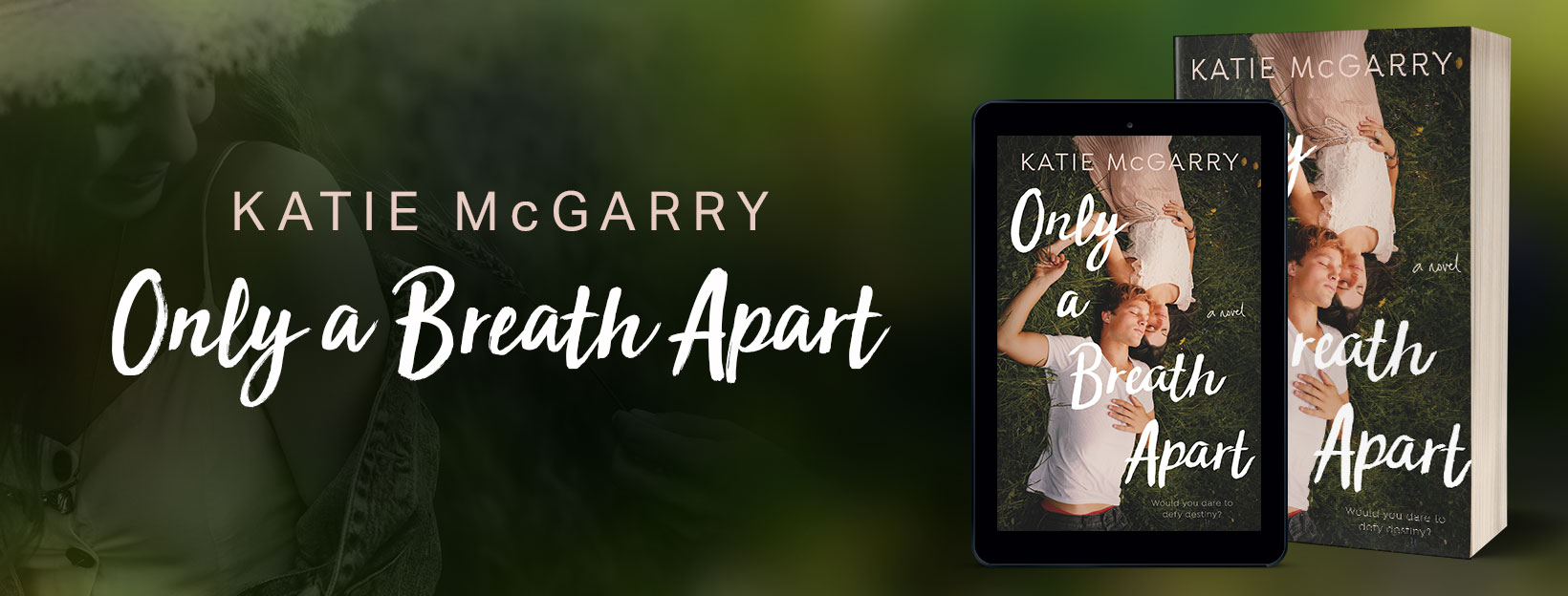 REVIEW, GIVEAWAY & EXCERPT: Only a Breath Apart by Katie McGarry