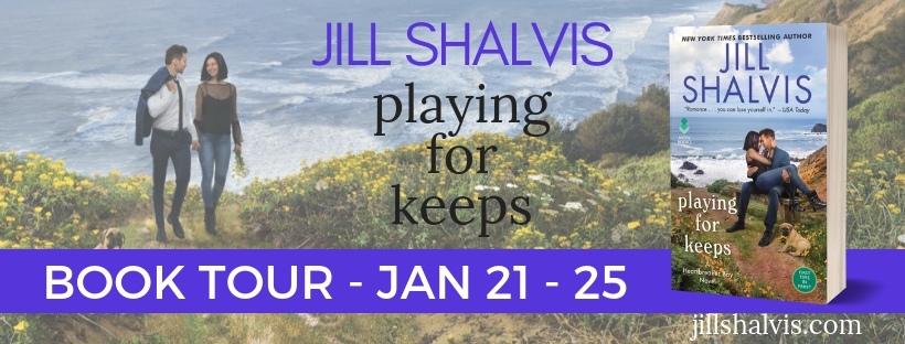 REVIEW & GIVEAWAY: Playing for Keeps (Heartbreaker Bay #7) by Jill Shalvis