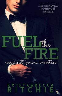 BOOK REVIEW: Fuel the Fire (Calloway Sisters #3) by Krista and Becca Ritchie