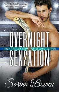 BOOK REVIEW: Overnight Sensation (Brooklyn Bruisers #5) by Sarina Bowen