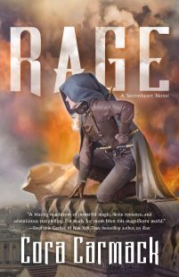 BOOK REVIEW + GIVEAWAY: Rage (Stormheart #2) by Cora Carmack