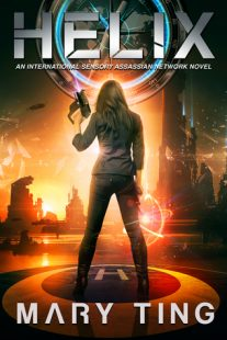 BOOK REVIEW & GIVEAWAY: Helix (International Sensory Assassin Network #2) by Mary Ting