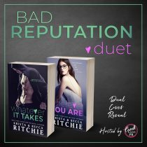 COVER REVEAL: Whatever It Takes and Wherever You Are (Bad Reputation Duet #1-2) by Krista & Becca Ritchie