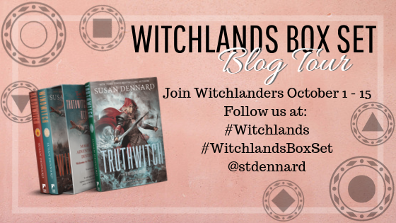 BLOG TOUR + REVIEW: The Witchlands Box Set (The Witchlands #1-3) by Susan Dennard