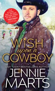 BOOK REVIEW: Wish Upon a Cowboy (Cowboys of Creedence #4) by Jennie Marts