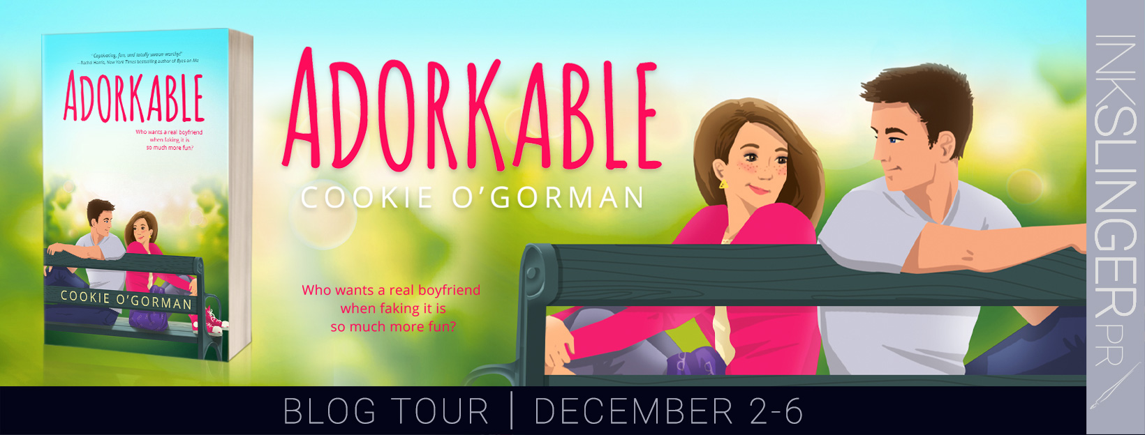 BOOK REVIEW & GIVEAWAY: Adorkable by Cookie O'Gorman