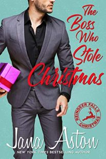 BOOK REVIEW: The Boss Who Stole Christmas (Reindeer Falls #1) by Jana Aston