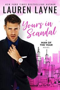 BOOK REVIEW: Yours in Scandal (Man of the Year #1) by Lauren Layne
