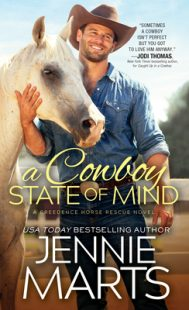 BOOK REVIEW: A Cowboy State of Mind (Creedence Horse Rescue #1) by Jennie Marts