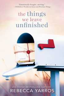 BOOK REVIEW: The Things We Leave Unfinished by Rebecca Yarros