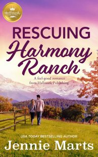 BOOK REVIEW: Rescuing Harmony Ranch by Jennie Marts