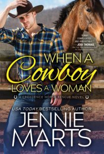 BOOK REVIEW: When a Cowboy Loves a Woman (Creedence Horse Rescue #2) by Jennie Marts