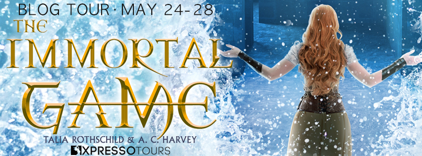 REVIEW & GIVEAWAY: The Immortal Game by Talia Rothschild & A.C. Harvey