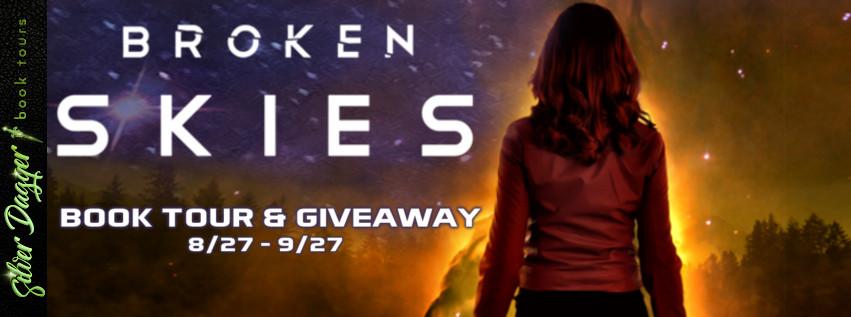$25 Amazon giftcard , Audiobook of Broken Skies , ebook copy of Magic Bound - 1 winner each!