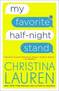 BOOK REVIEW: My Favorite Half-Night Stand by Christina Lauren